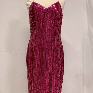 Alfred sung sequin dress.
